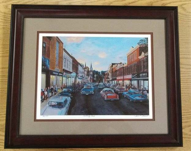 "Image Painting ""Frostburg 1960"" James Groves"