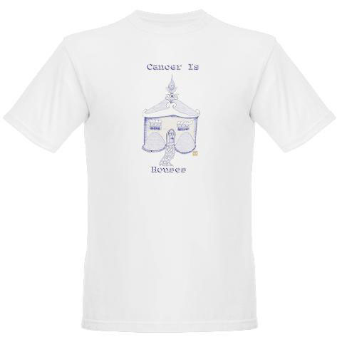 "Image of ""Cancer is House"" Tee Shirt"