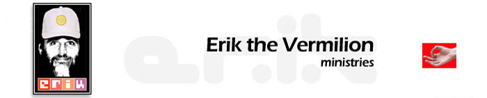 Erik The Vermilion Ministries Logo