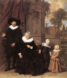 Family Portrait by Frans Hals