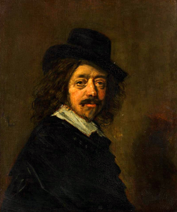 Double of a Self-Portrait of Frans Hals, by a Doubler