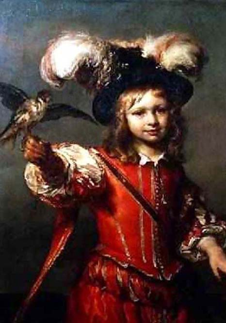 Noordt -- Boy With A Falcon And Leash