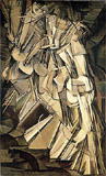 Nude Descending Staircase No 2 by Marcel Duchamp