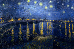 "Thumbnail ""Starry Night over The Rhone"""