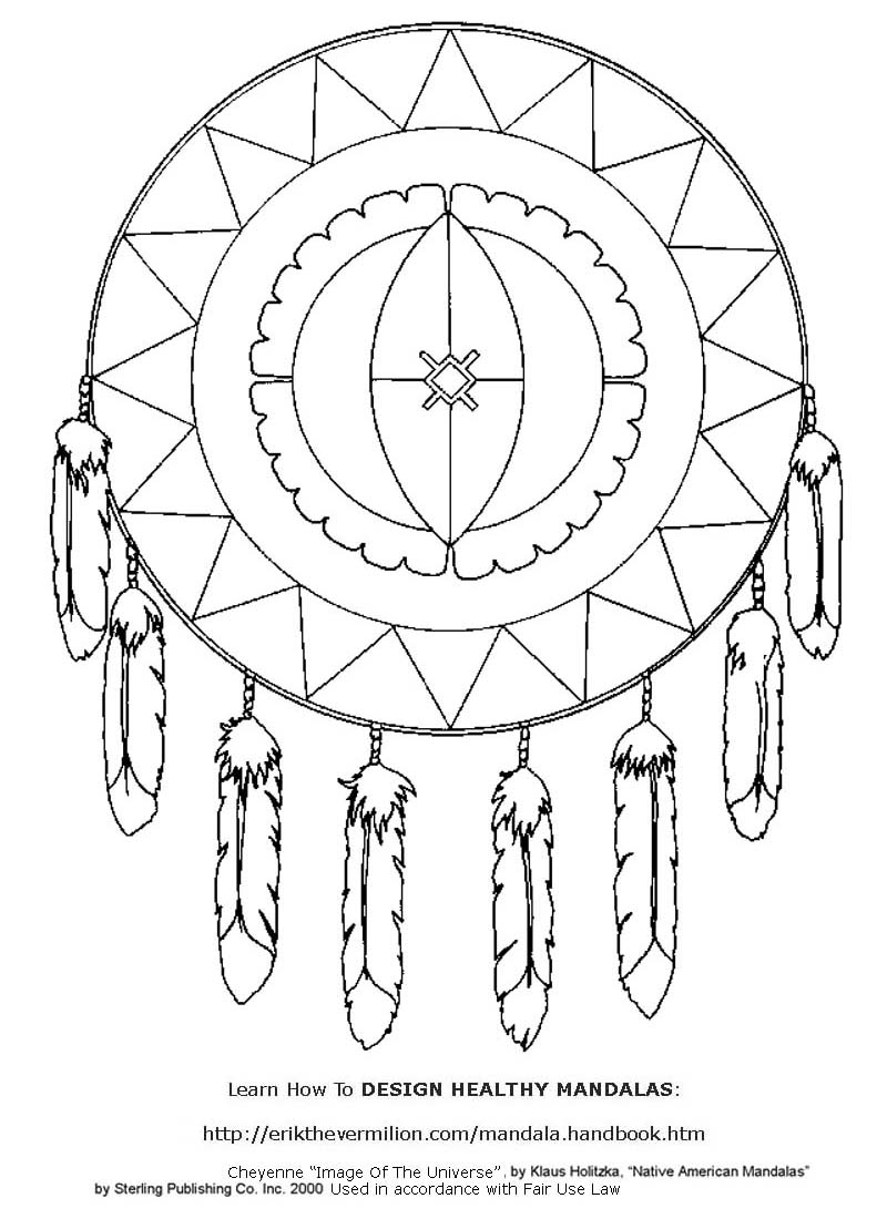 Kids Mandalas Coloring Pages